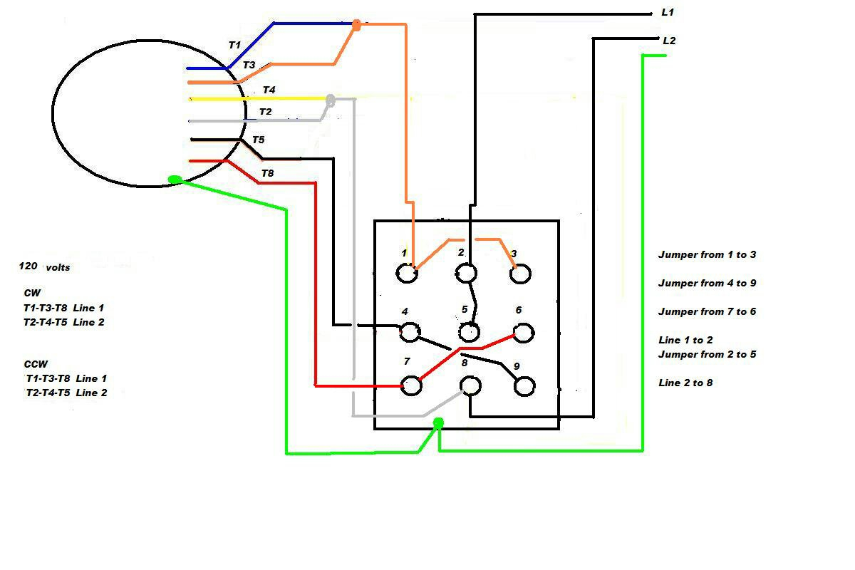 Weg Motor Wiring Diagram 480 B Leads - Wiring Diagram Article on