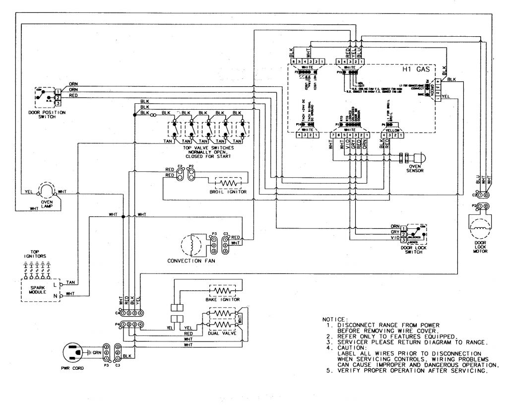 motor wiring diagram manual general motors 1988 includes ac heater vacuum circuits motor domestic wiring diagram manual