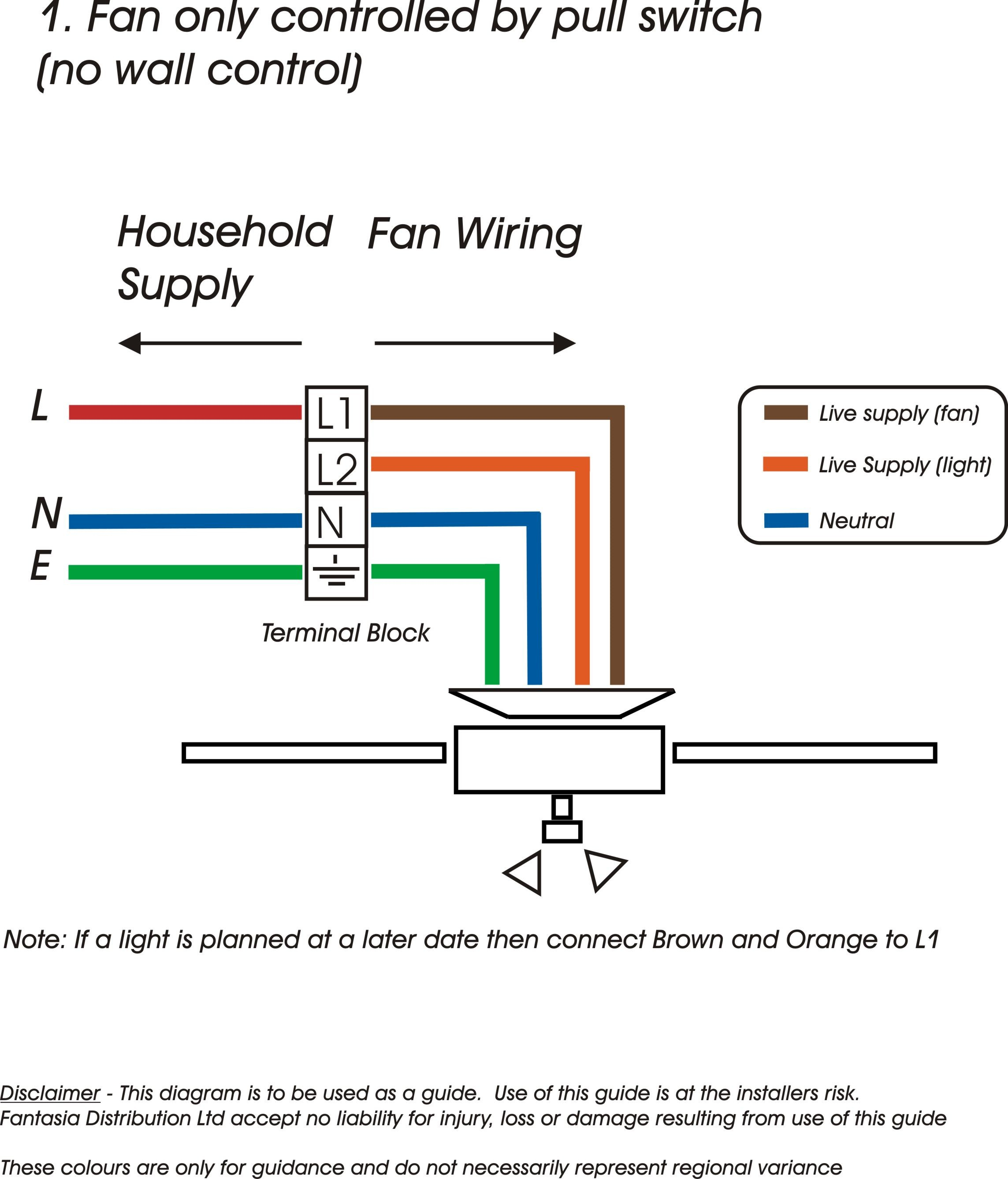 Whole House Fan Wiring Diagram Sample