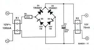 Wiring Diagram Bridge Rectifier - Bridge Rectifier Wiring Diagram Wiring Diagram U2022 Rh Growbyte Co 20k