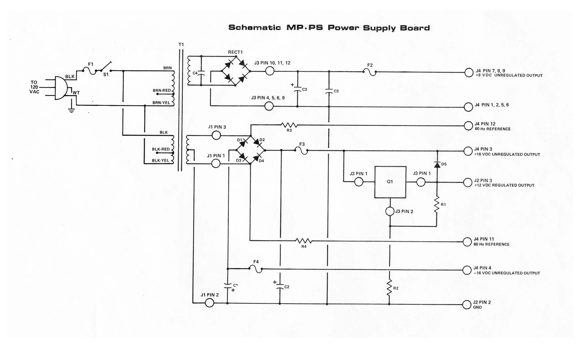 Wiring Diagram For A Power Pack Pp 20 Download