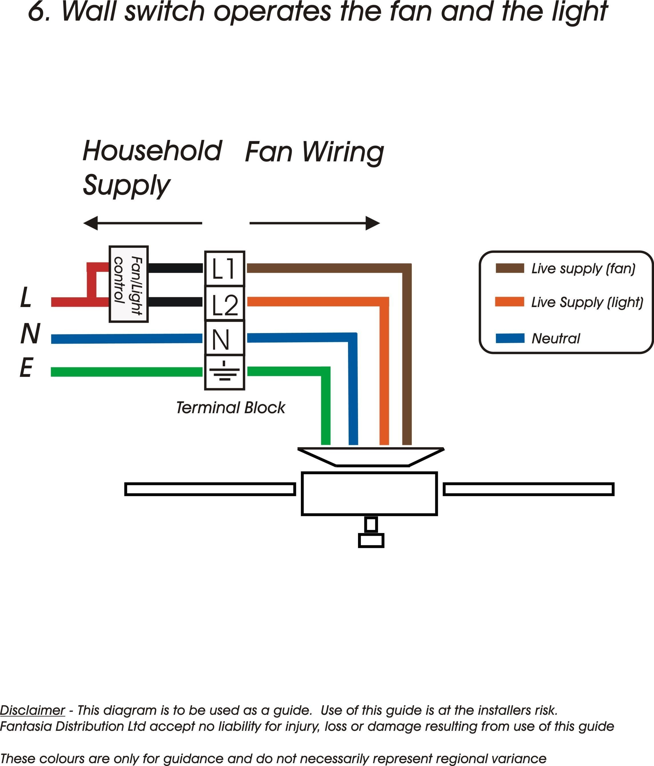 Wiring Diagram For Hunter Ceiling Fan With Light Download