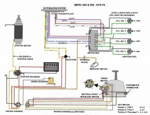 Wiring Diagram for Mercury Outboard Motor - Mercury Outboard Wiring Harness Diagram Download 1997 Mercury Outboard Motor Wiring Diagram Electrical Drawing Rh 7i