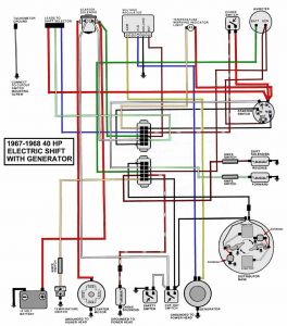 Wiring Diagram for Mercury Outboard Motor - Wiring Diagram Mariner 40 Hp Wire Center U2022 Rh Escopeta Co Mercury 40 Hp Elpt Mercury 40 Hp 4 Stroke Outboard 20a