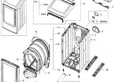 Wiring Diagram for Samsung Dryer Heating Element - 15h