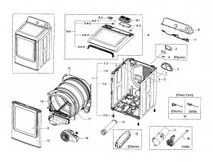 Wiring Diagram for Samsung Dryer Heating Element - 9a