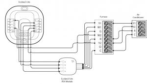 Wiring Diagram for the Nest thermostat - Nest thermostat Wiring Diagram 1p