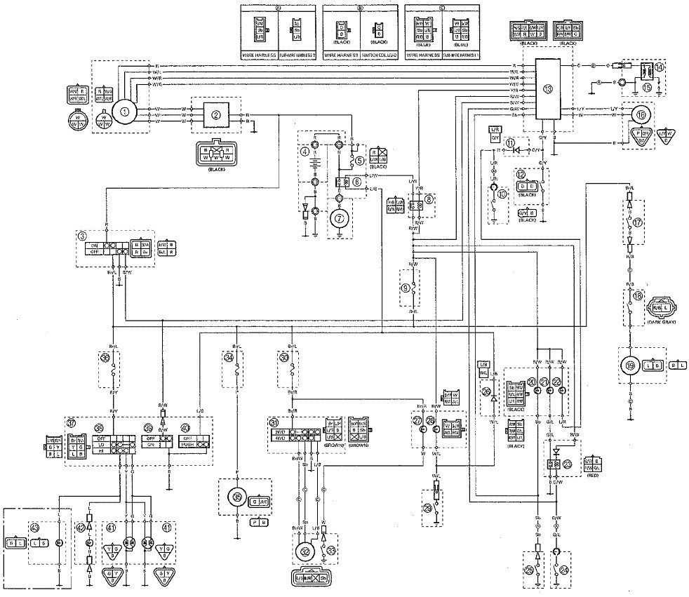 yamaha bravo, yamaha it, for parva, honda crf, yamaha ty, hp evinrude, on timberwolf 250 wiring diagram