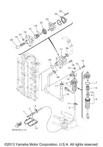 Yamaha Outboard Wiring Diagram - Yamaha Outboard Motor Parts Diagram 20p